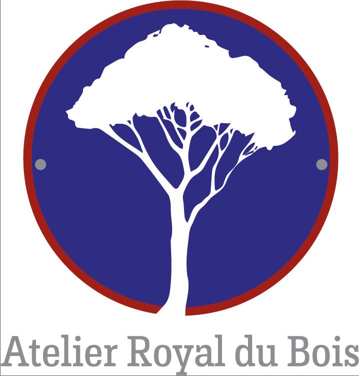 Logo OK Atelier Royal du Bois vectorisé + NOM